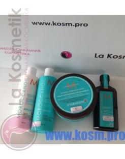 Moroccanoil набор из четырех средств для объема волос.