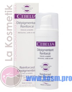"Cebelia Крем для лица и рук ""Reinforced Depigmenting"""
