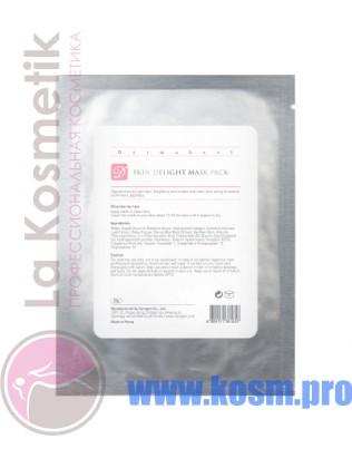 Dermaheal Skin delight mask pack Маска осветляющая индивидуальная в упаковке