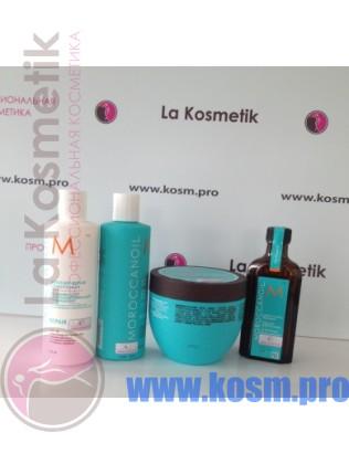 Морокканойл - набор из четырех средств для увлажнения волос.