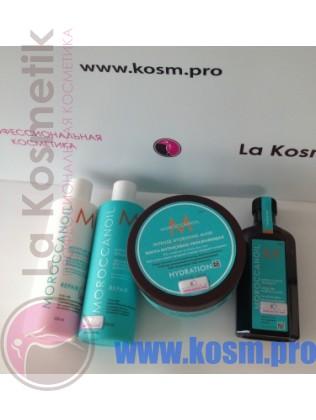 Moroccanoil набор: шампунь, кондиционер, масло для волос, маска восстанавливающая