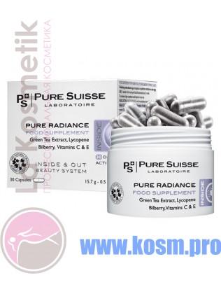 Pure Radiance пищевая добавка-антистресс с зелёным чаем
