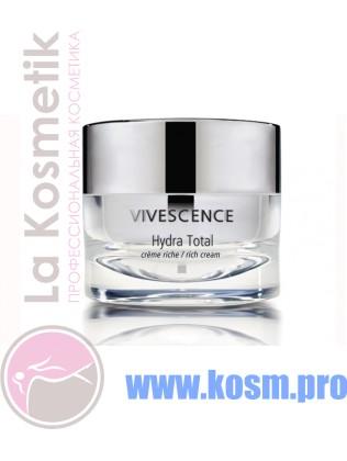 Vivescence (Hydra Total Rich Cream) Обогащенный увлажняющий крем